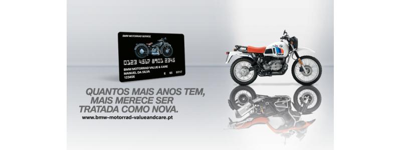 Cartão BMW Motorrad Value & Care