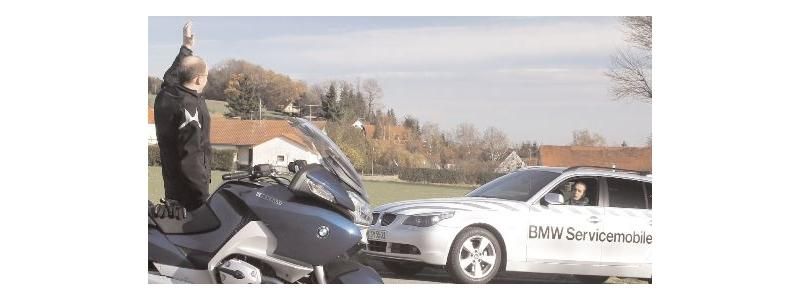 BMW Motorrad Mobile Care.