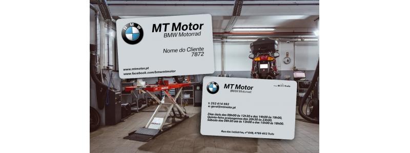 Cartão de Cliente MT Motor